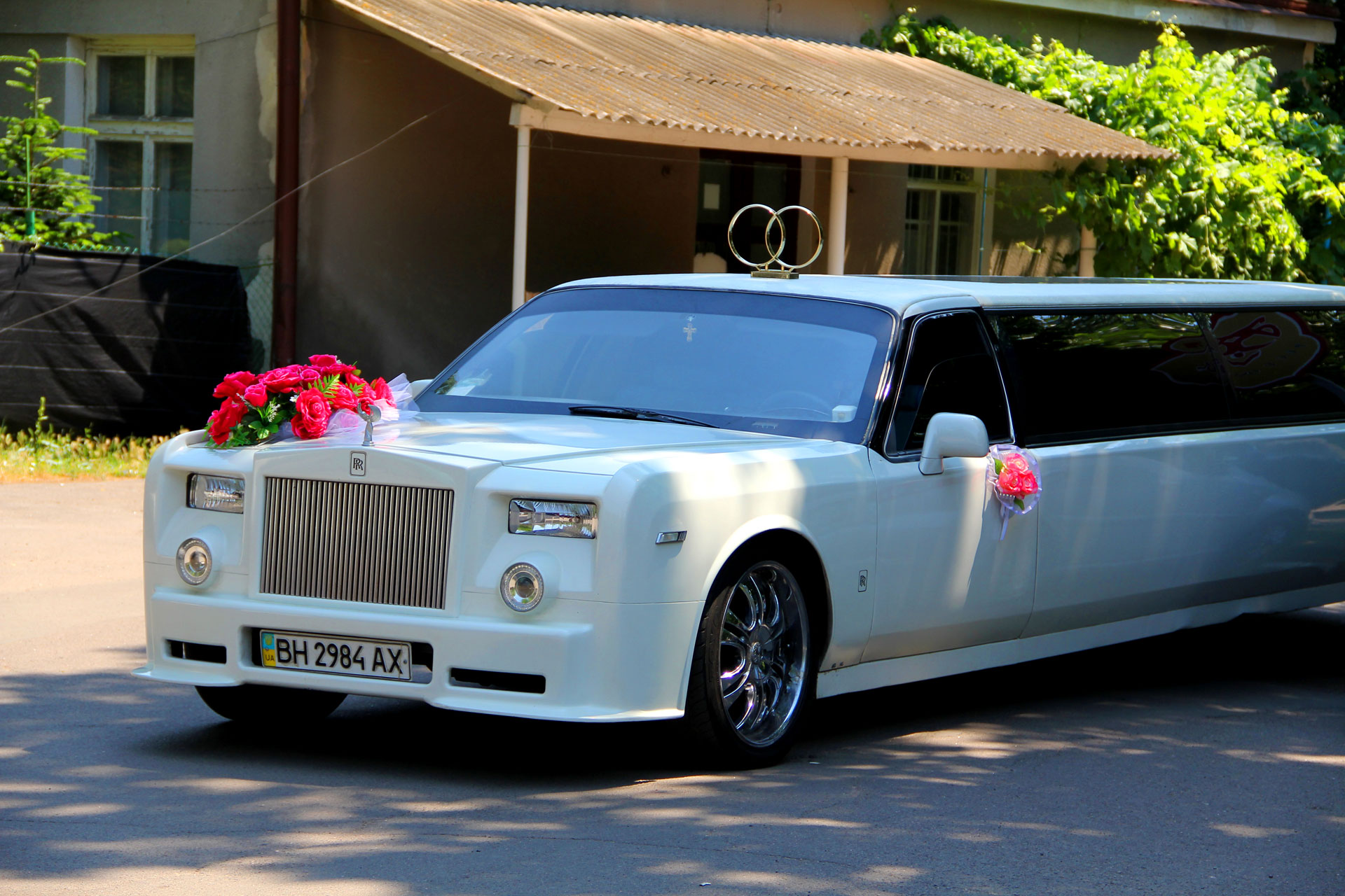 Одесса свадебный лимузин